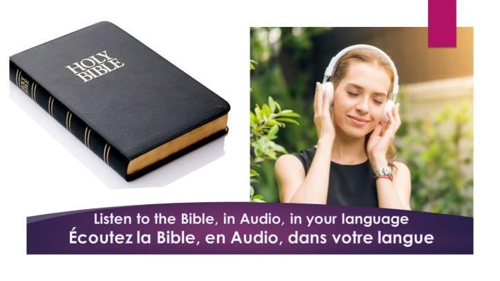 Bible en Audio