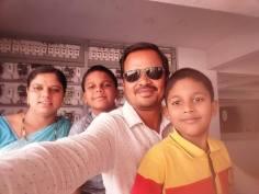 (identité préservée) correspondant N.P.J en Inde