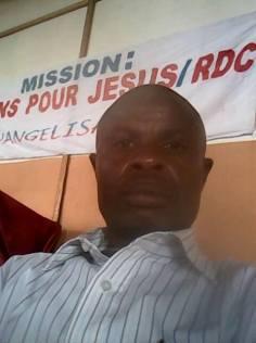 Pasteur Hilaire représentant N.P.J Goma RDC Afrique