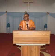 Maxime Ngoma correspondant N.P.J au Congo Brazzaville RC Afrique